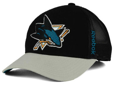 San Jose Sharks Reebok NHL 2015 TNT Adjustable Cap