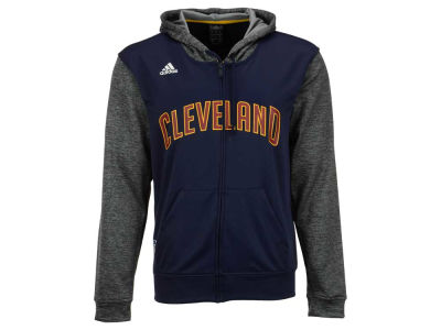 Cleveland Cavaliers adidas NBA Men's Pre Game Full Zip Hooded Jacket