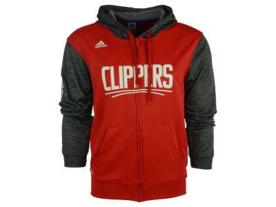 Los Angeles Clippers adidas NBA Men's Pre Game Full Zip Hooded Jacket