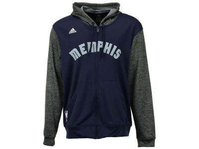 Memphis Grizzlies adidas NBA Men's Pre Game Full Zip Hooded Jacket