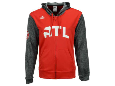 Atlanta Hawks adidas NBA Men's Pre Game Full Zip Hooded Jacket
