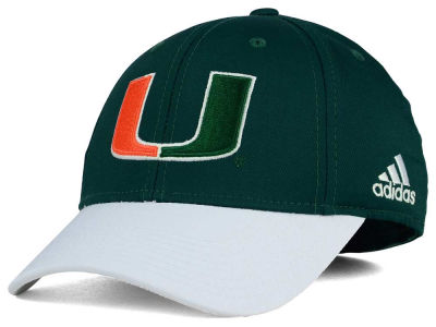 Miami Hurricanes adidas NCAA Structured Flex Cap