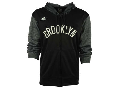 Brooklyn Nets adidas NBA Men's Pre Game Full Zip Hooded Jacket
