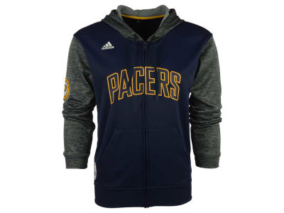 Indiana Pacers adidas NBA Men's Pre Game Full Zip Hooded Jacket