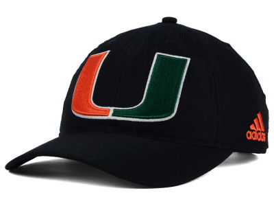 Miami Hurricanes adidas NCAA Adjustable Cap