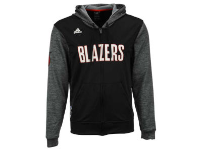 Portland Trail Blazers adidas NBA Men's Pre Game Full Zip Hooded Jacket