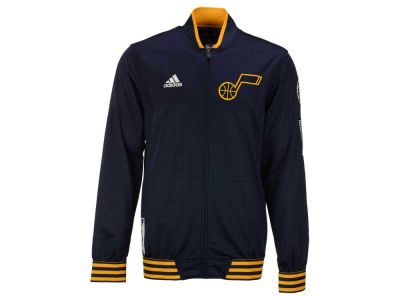 Utah Jazz adidas NBA Men's On Court Warm Up Jacket