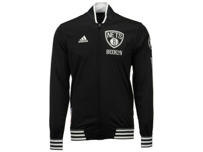 Brooklyn Nets adidas NBA Men's On Court Warm Up Jacket