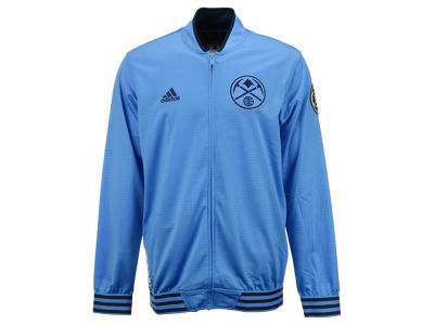 Denver Nuggets adidas NBA Men's On Court Warm Up Jacket