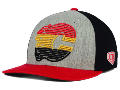 Calgary Flames Old Time Hockey NHL Win Streak Flex Hat