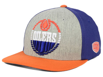 Edmonton Oilers Old Time Hockey NHL Win Streak Flex Hat