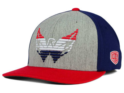 Washington Capitals Old Time Hockey NHL Win Streak Flex Hat