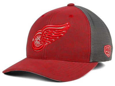 Detroit Red Wings Old Time Hockey NHL Duster Flex Hat