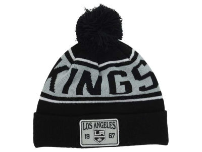 Los Angeles Kings Old Time Hockey NHL Juneau Pom Knit