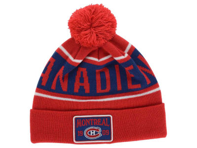 Montreal Canadiens Old Time Hockey NHL Juneau Pom Knit