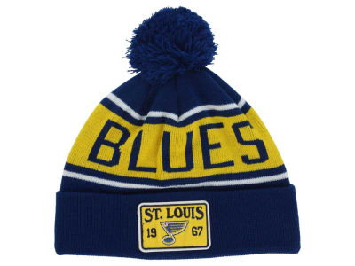 St. Louis Blues Old Time Hockey NHL Juneau Pom Knit