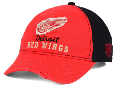 Detroit Red Wings Old Time Hockey NHL Youth Rica Adjustable Hat