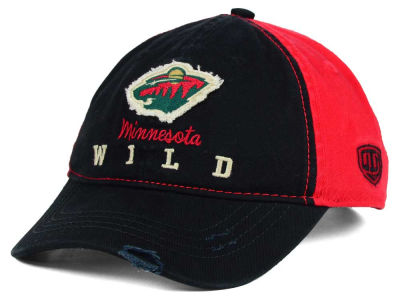 Minnesota Wild Old Time Hockey NHL Youth Rica Adjustable Hat