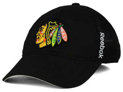 Chicago Blackhawks Reebok NHL 2015 Player Mesh Slouch Cap