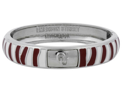 Oklahoma Sooners Team Logo Bangle Bracelet