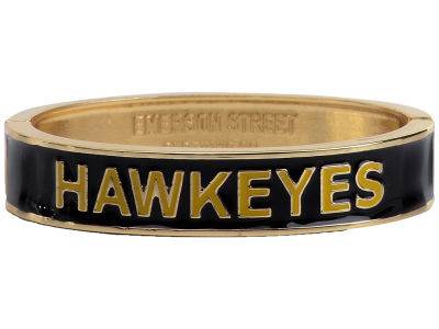 Iowa Hawkeyes Team Logo Bangle Bracelet
