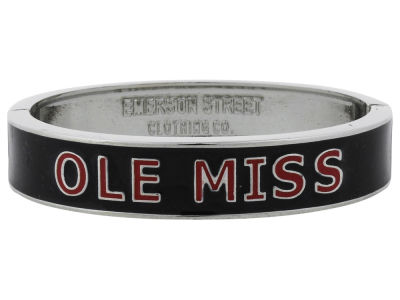 Ole Miss Rebels Team Logo Bangle Bracelet