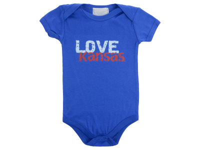 Kansas Jayhawks NCAA Infant Love Creeper