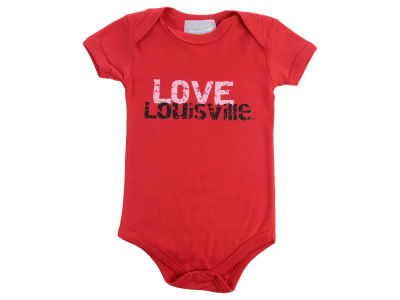 Louisville Cardinals Atlanta Hosiery NCAA Infant Love Creeper