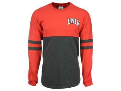 UNLV Runnin Rebels Pressbox NCAA Women's Varsity Sweeper Long Sleeve T-Shirt
