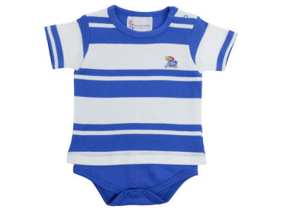 Kansas Jayhawks NCAA Newborn Rugby Creeper