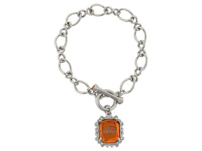 Oklahoma State Cowboys Etched Chain Bracelet