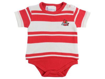 Louisville Cardinals Atlanta Hosiery NCAA Newborn Rugby Creeper