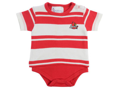 Louisville Cardinals Atlanta Hosiery NCAA Infant Rugby Creeper
