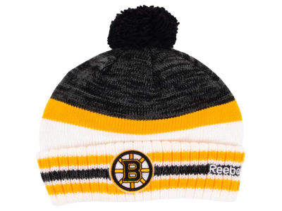 Boston Bruins Reebok NHL 2015 Pom Knit