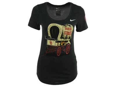 Oklahoma Sooners Nike NCAA Women's Tri Scoop Local Imagery T-Shirt