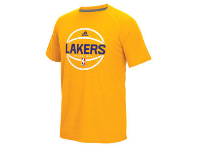 Los Angeles Lakers adidas NBA Men's Climacool Ultimate T-Shirt
