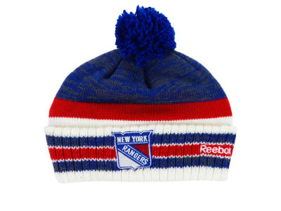 New York Rangers Reebok NHL 2015 Pom Knit