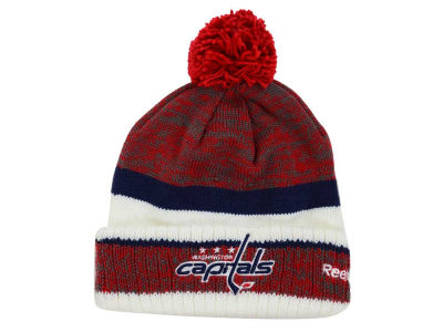 Washington Capitals Reebok NHL 2015 Pom Knit