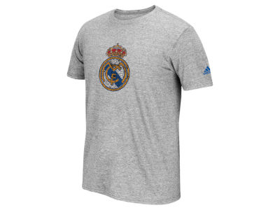 Real Madrid adidas Club Soccer Men's Crest T-Shirt