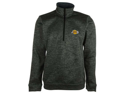 Los Angeles Lakers adidas NBA Men's Team Issue 1/4 Zip Pullover Shirt