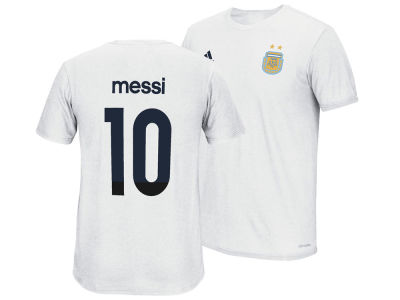 Argentina Lionel Messi adidas Club Soccer Men's Player T-Shirt