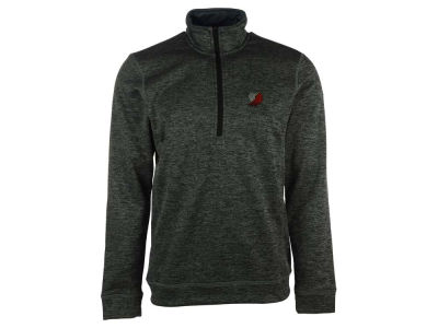 Portland Trail Blazers adidas NBA Men's Team Issue 1/4 Zip Pullover Shirt
