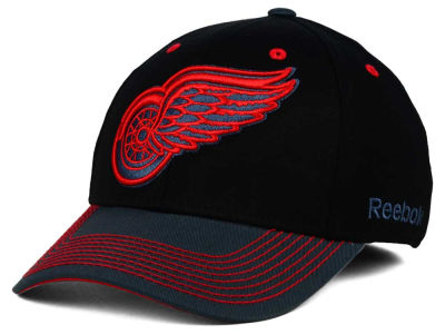 Detroit Red Wings Reebok NHL 2015 Tonal Logo Flex Cap
