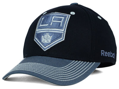 Los Angeles Kings Reebok NHL 2015 Tonal Logo Flex Cap