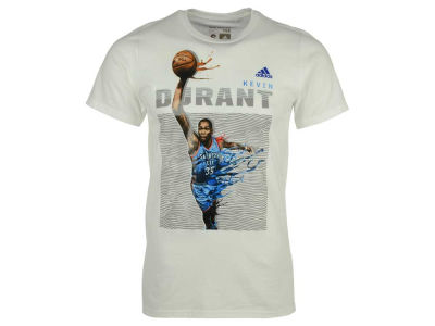 Oklahoma City Thunder Kevin Durant adidas NBA Men's Elevate Player T-Shirt