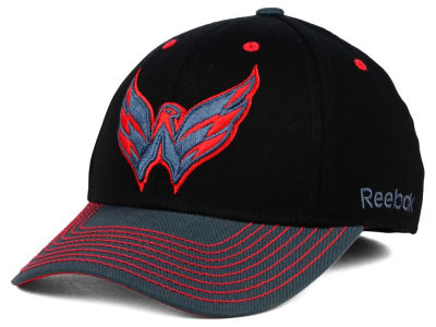 Washington Capitals Reebok NHL 2015 Tonal Logo Flex Cap