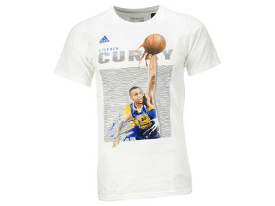 Golden State Warriors Stephen Curry adidas NBA Men's Elevate Player T-Shirt