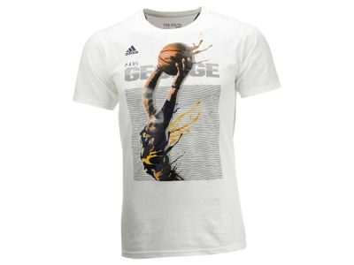 Indiana Pacers Paul George adidas NBA Men's Elevate Player T-Shirt