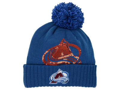 Colorado Avalanche Reebok NHL 2015 Women's Pom Knit