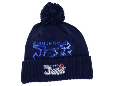 Winnipeg Jets Reebok NHL 2015 Women's Pom Knit